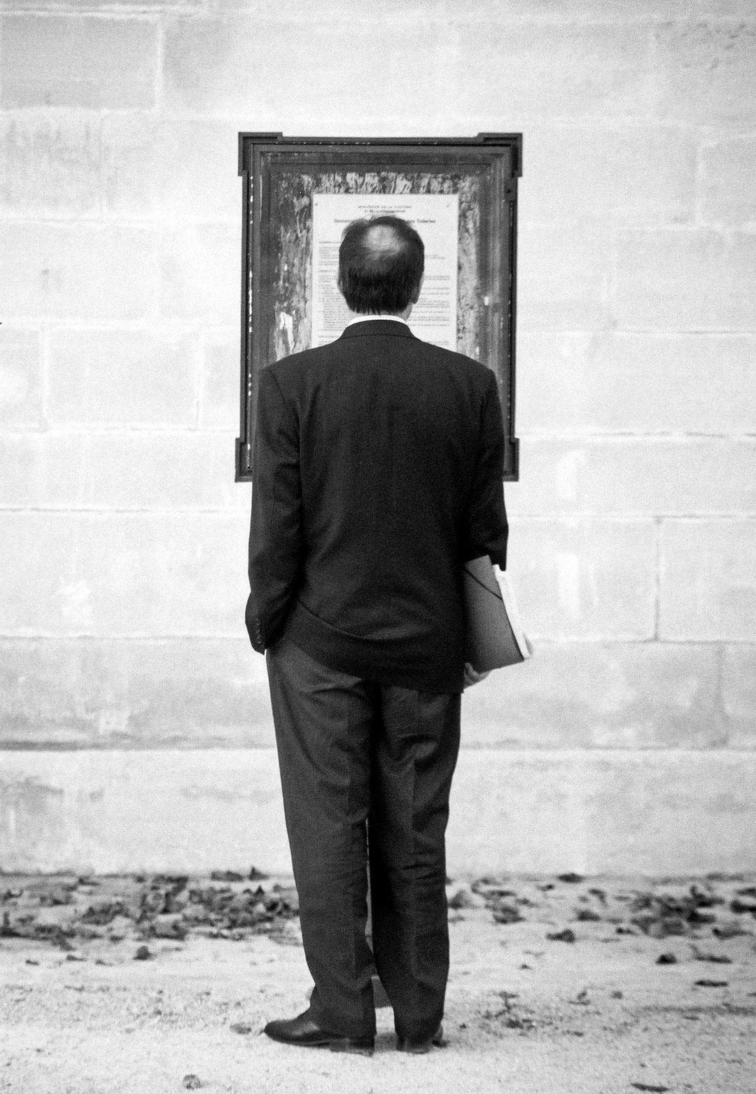 Black Tie Man - Paris - France - 1994